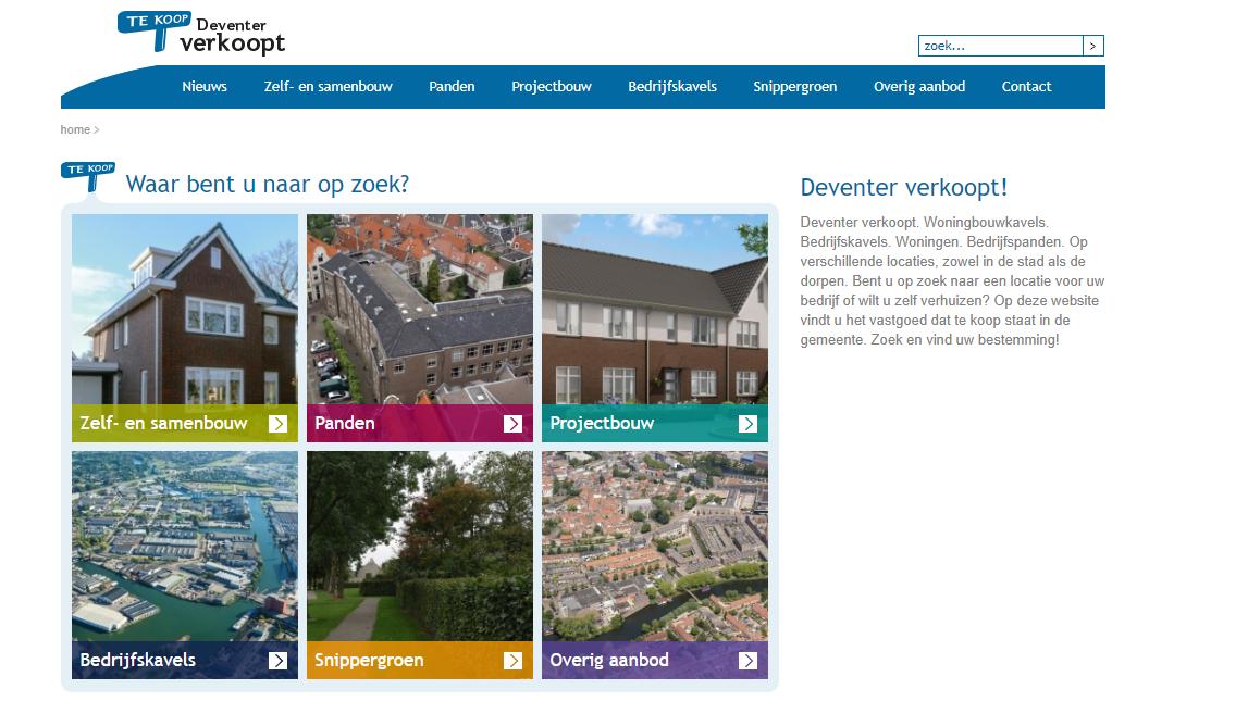 """Wonen in Deventer? Bekijk de """"Tuinen van Zandweerd"""""""